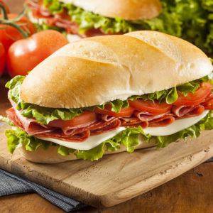 Italian Cold Cut Sandwich Catering